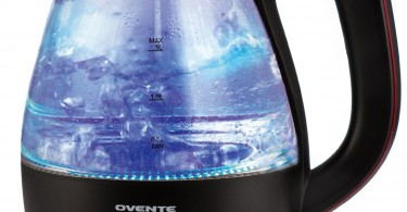 Ovente KG83B Glass Electric Kettle
